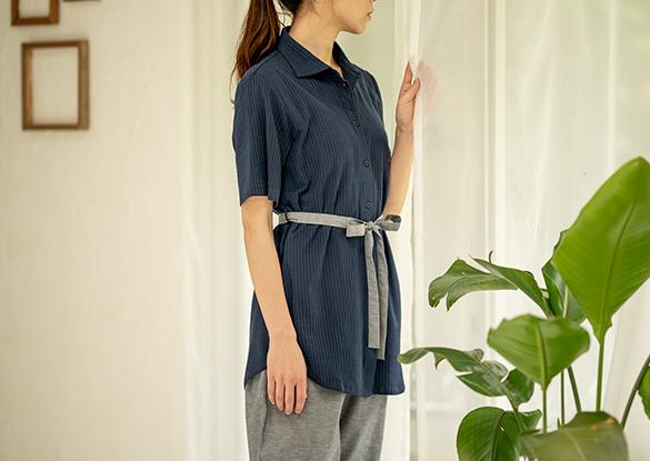 半袖~八分袖のレディースパジャマ