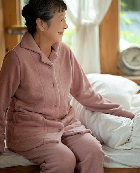 レディース前開きパジャマ